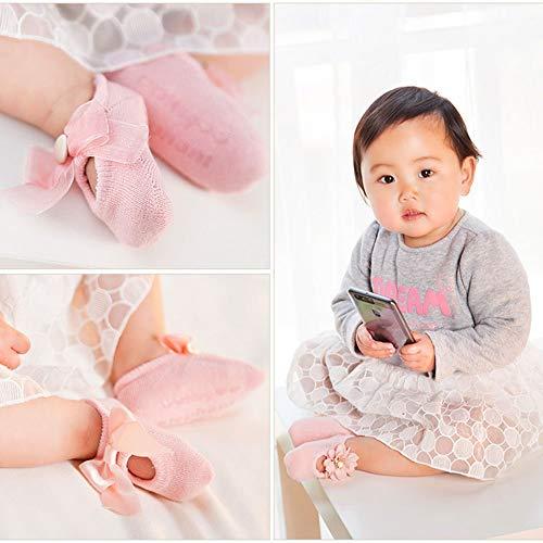 Cotton Cuff Socks for Baby Boys Girls Toddler Newborn Cartoon Cozy Leekey 6 Pairs